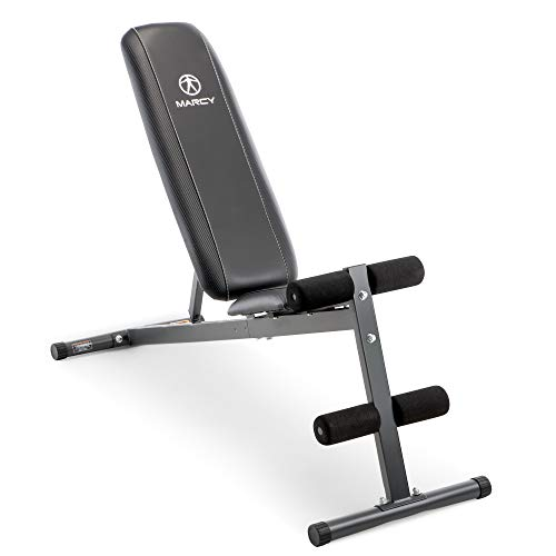 Exercise Utility Bench for Upright, Incline,...