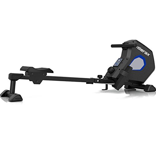 Merax Magnetic Exercise Rower Adjustable...