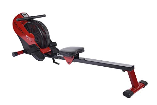 Stamina ATS Air Rower | Rowing Machine | LCD...