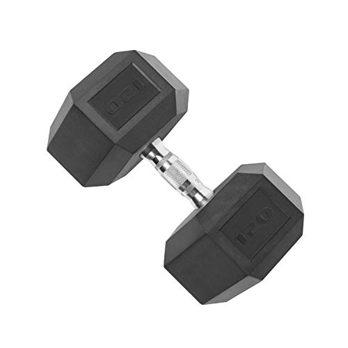 CAP Barbell Coated Hex Dumbbell with...