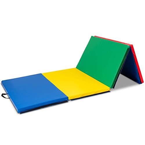 MAT EXPERT 4'x10'x2 Gymnastics Mat, Folding...