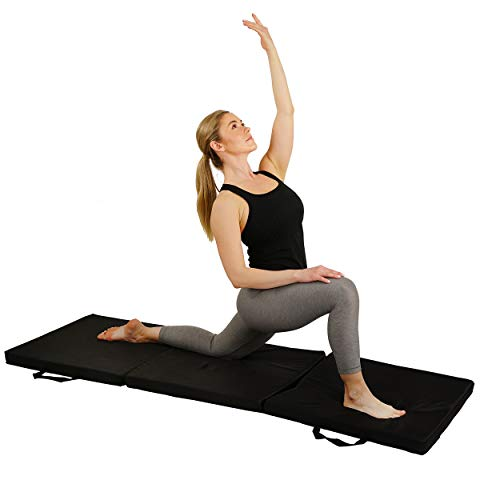 Sunny Health & Fitness Folding Gymnastics Mat...
