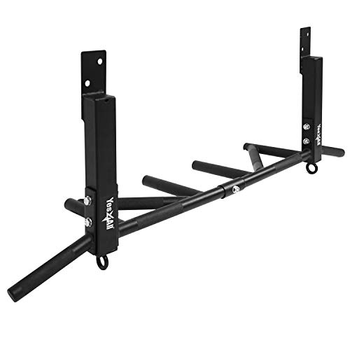 Yes4All Joist Mounted Pull Up Bar - Multi...