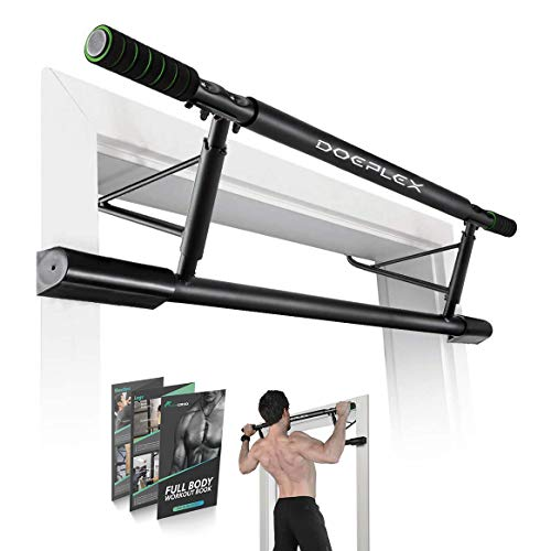 Doeplex Pull Up Bar with Smart Larger Hooks...