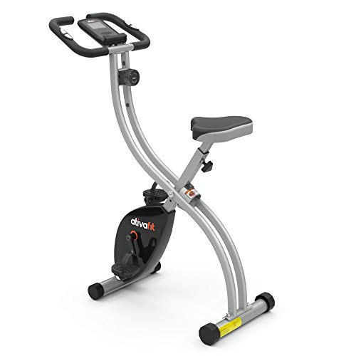 ATIVAFIT Indoor Cycling Bike Folding Magnetic...
