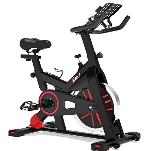 TRYA Indoor Exercise Bike Stationary, Belt...