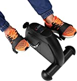 Portable Exercise Bike Pedals Stable Mini...