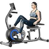 pooboo Magnetic Recumbent Exercise Bike...