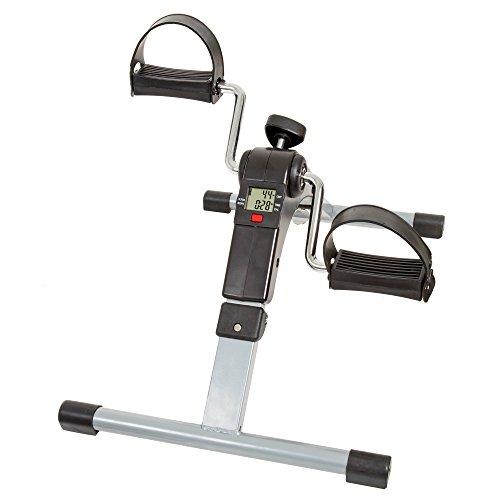 Wakeman Portable Folding Fitness Pedal...