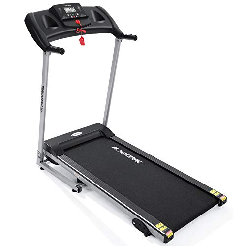 MaxKare Electric Treadmill Foldable 17' Wide...
