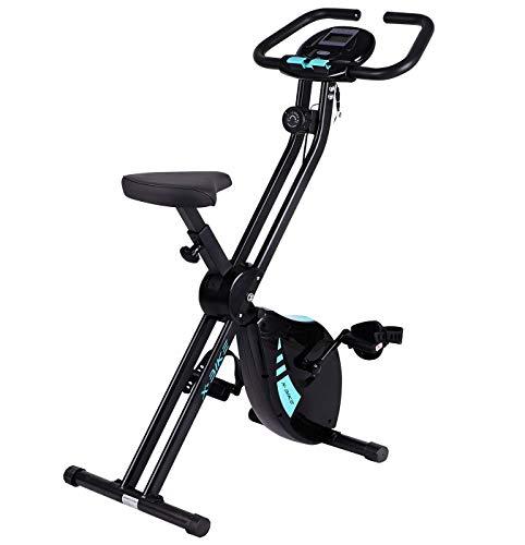 Folding Exercise Bike 8 Level Magnetic...