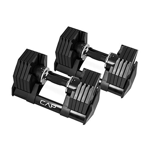 CAP Barbell Adjustabell Dumbbell 50-Pound...