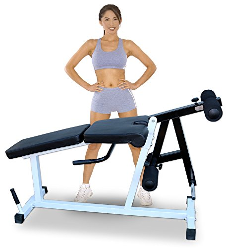 Deltech Fitness Leg Extension/Leg Curl...