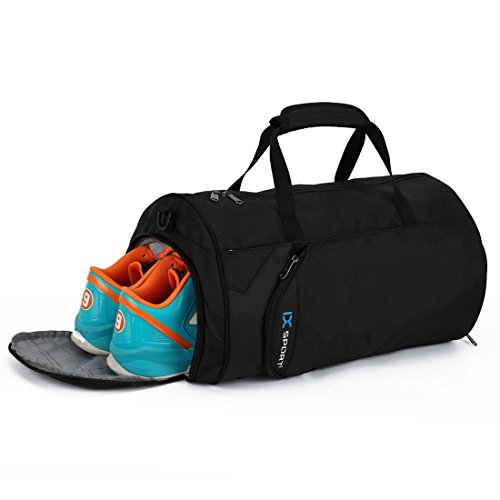 INOXTO Fitness Sport Small Gym Bag with Shoes...