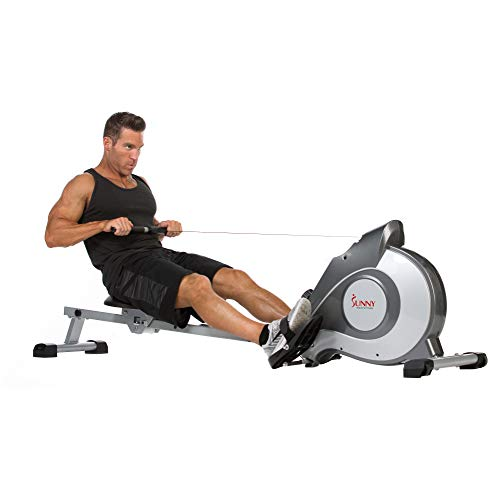 Sunny Health & Fitness Magnetic Rowing...