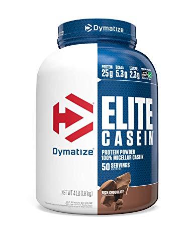 Dymatize Elite Casein Protein Powder, Slow...