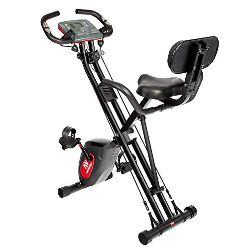 ADVENOR Exercise Bike Magnetic Bike Fitness...