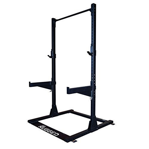 Rugged Commercial Half Rack Y120, 1000 lb...