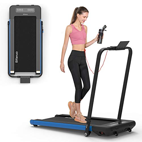 BiFanuo 2 in 1 Folding Treadmill, Smart...