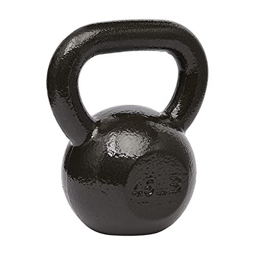 Amazon Basics Cast Iron Kettlebell Weight