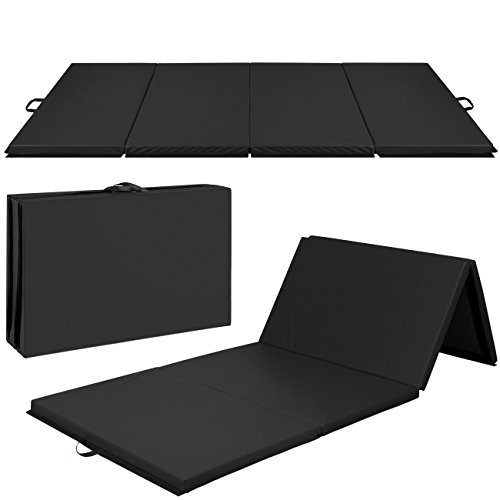 Best Choice Products 10ft 4-Panel Foam...
