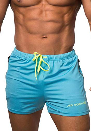 Jed North Men's Fitted Shorts Bodybuilding...