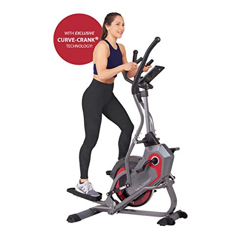 Body Power 2-in-1 Elliptical Stepper Trainer...