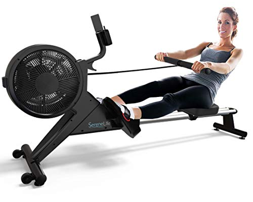 SereneLife Smart Rowing Machine-Home Rowing...