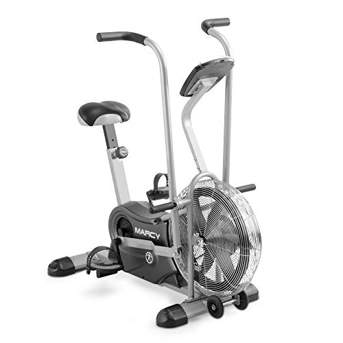 Marcy Exercise Upright Fan Bike for Cardio...