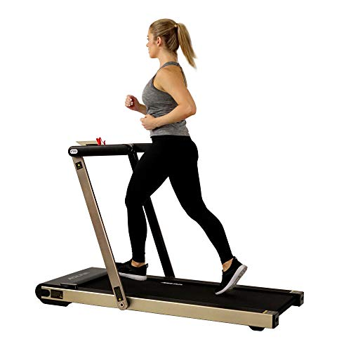 ASUNA Space Saving Treadmill, Motorized with...