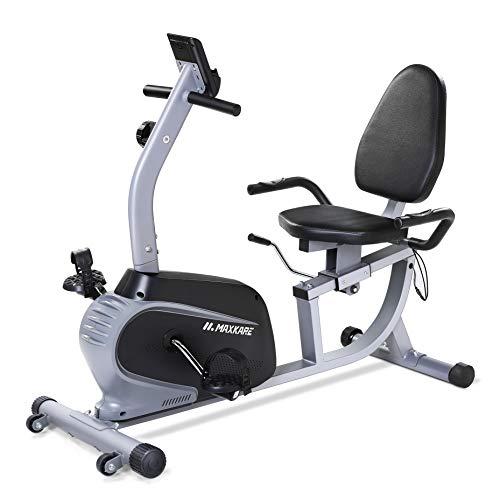 MaxKare Recumbent Exercise Bike Indoor...