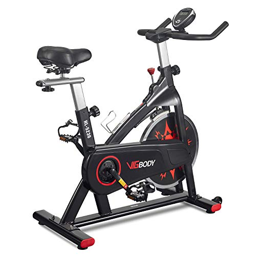 VIGBODY Exercise Bike Indoor Cycling Bike...