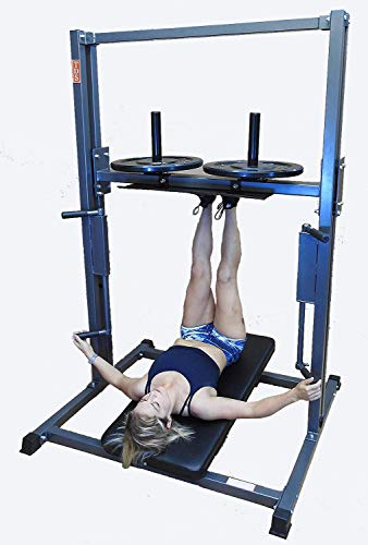 TDS Premier Vertical Leg Press - Silver Grey