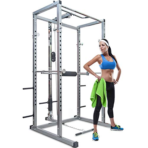 Merax Athletics Fitness Power Rack Olympic...