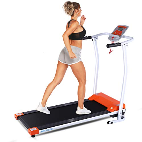 ANCHEER Treadmill for Small Spaces,Compact...