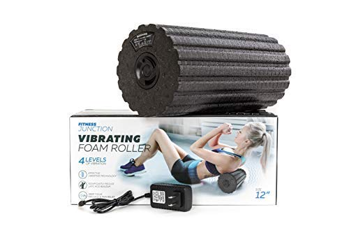 Vibrating Foam Roller - Back Pain Relief -...