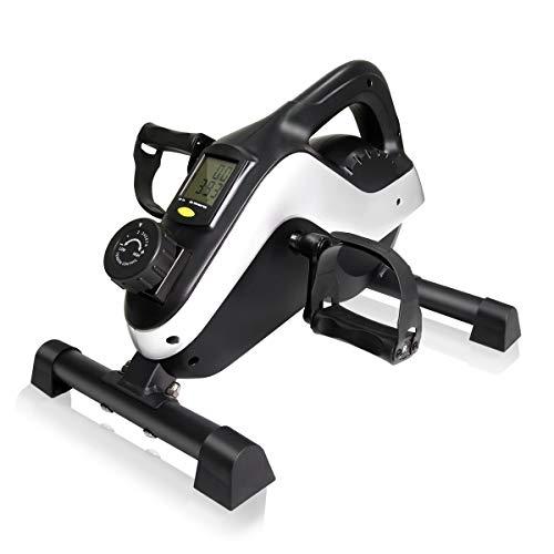 IDEER LIFE Under Desk Bike Pedal Exerciser,...