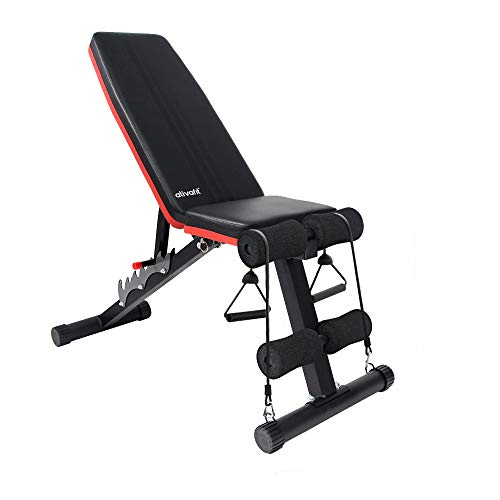Ativafit Adjustable Weight Bench for Full...
