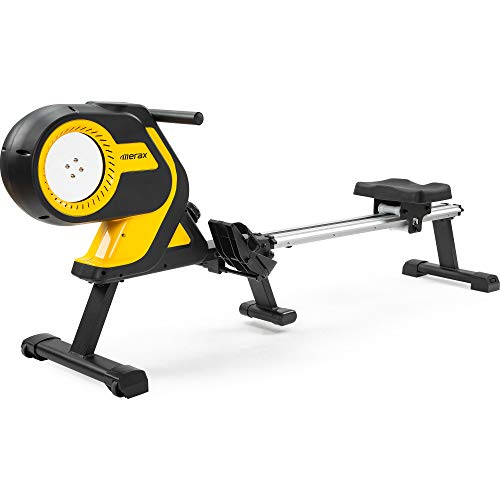 Merax Magnetic Folding Rowing Machine Indoor...
