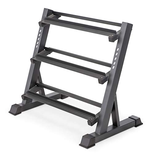 Marcy 3-Tier Dumbbell Rack Multilevel Weight...