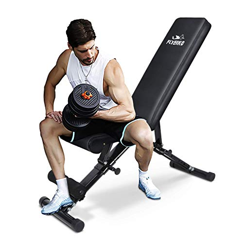 FLYBIRD Adjustable Bench,Utility Weight Bench...
