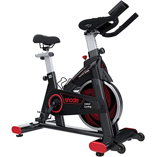 SNODE Magnetic Indoor Exercise Bike, Cycling...