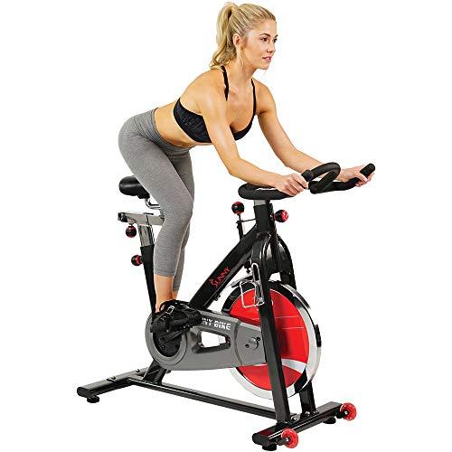 Sunny Health & Fitness Spin Bike Belt Drive...
