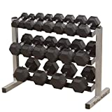Body-Solid Three-Tier Horizontal Dumbbell...