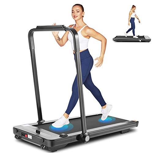 Wikole 2 in 1 Folding Treadmill, 2.25HP...