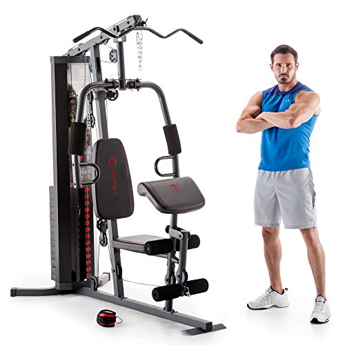 Marcy 150-lb Multifunctional Home Gym Station...