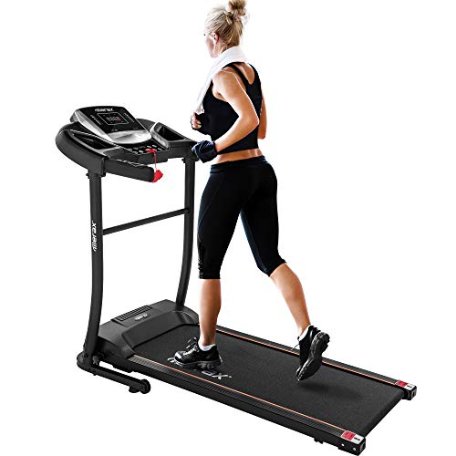 Merax Electric Folding Treadmill – Easy...