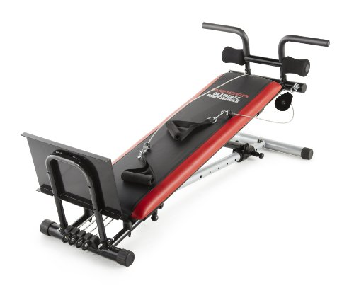 Weider Ultimate Body Works Black/Red,...