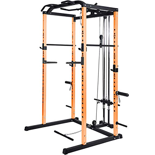 Power Rack Power Cage 1000-Pound Capacity...