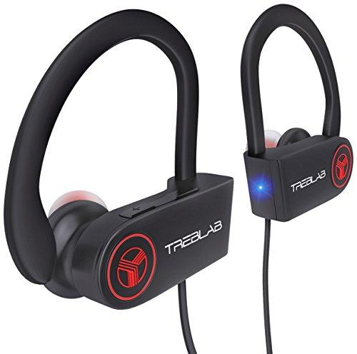 TREBLAB XR100 - Ergonomic Wireless Sport...